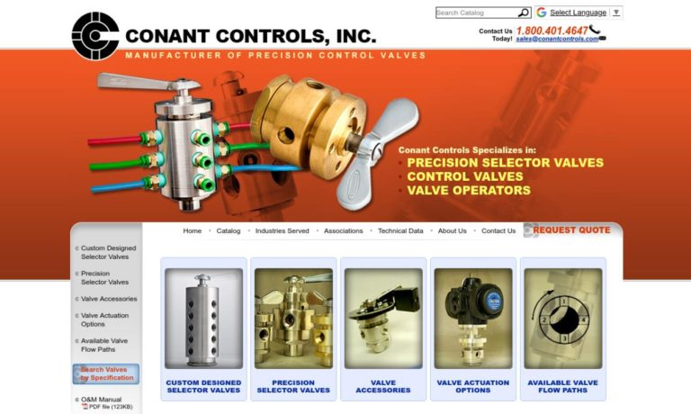 Conant Controls, Inc.