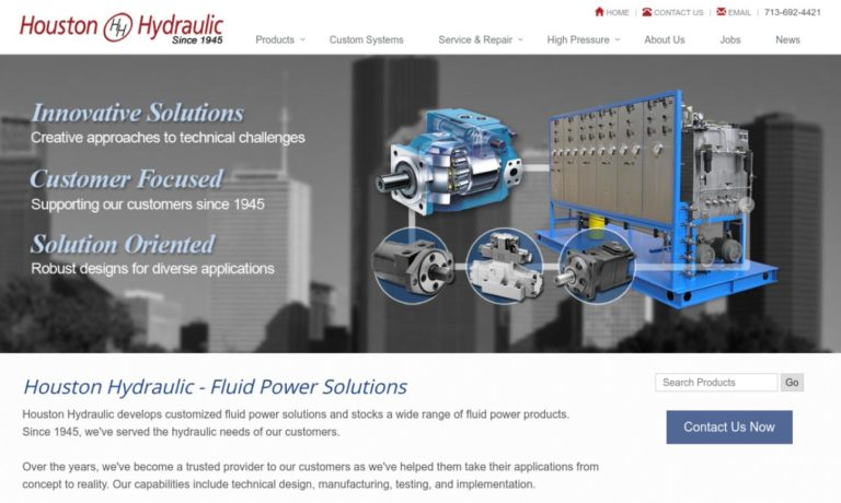 Houston Hydraulic Sales and Service, Inc