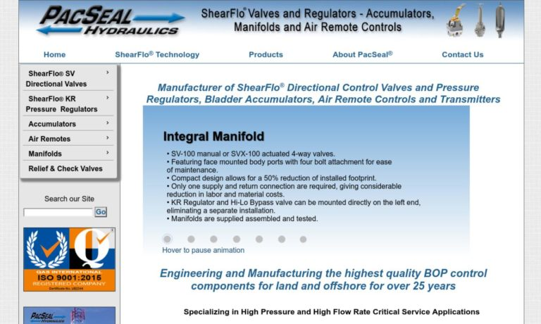 PacSeal Hydraulics, Inc.