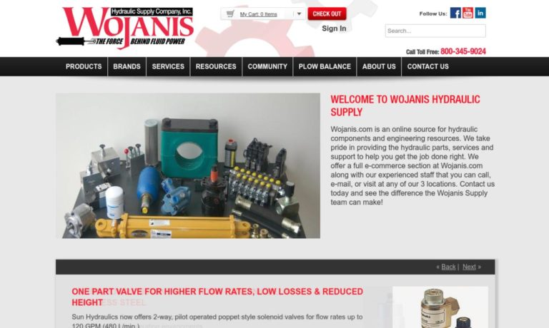 Wojanis Hydraulic Supply Company, Inc.