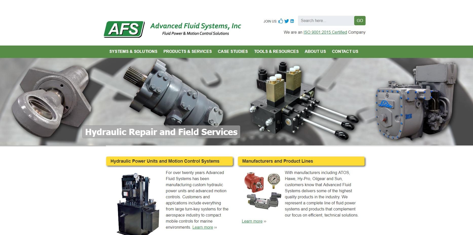 Advanced Fluid Systems, Inc.